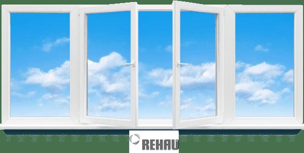 балконная рама rehau