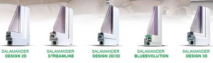 Окна ПВХ Salamander