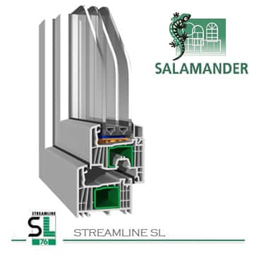 Окна Salamander, виды и особености